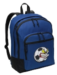 Soccer Fan Backpack Blue