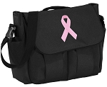 Pink Ribbon Diaper Bag