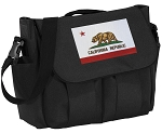 California Flag Diaper Bag