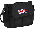England British Flag Diaper Bags