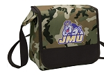 JMU Lunch Bag Cooler Camo