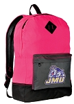 JMU Backpack HI VISIBILITY James Madison University CLASSIC STYLE For Her Girls Women