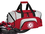 SMALL Alabama Gym Bag Alabama Duffle Red