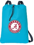 Alabama Drawstring Bag SOFT COTTON Alabama Backpacks Aqua