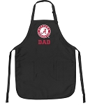 Deluxe Alabama Dad Apron Black