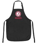 Deluxe Alabama GRANDPA Apron Black