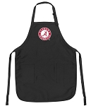Deluxe Alabama Apron Black
