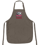 University of Alabama Grandma Deluxe Apron Khaki