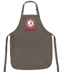Deluxe UA Alabama Grandfather Apron Khaki