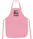 University of Alabama Grandma Apron Pink - MADE in the USA!