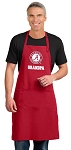 LARGE UA Alabama Grandfather APRON for MEN or Women RED