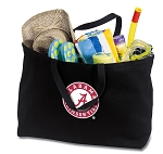 Jumbo Alabama Tote Bag Black