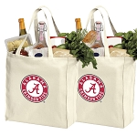 Alabama Shopping Bags Alabama Grocery Bags 2 PC SET