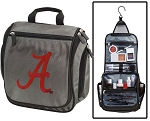University of Alabama Toiletry Bag or Shaving Kit Gray