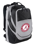 Deluxe Alabama Computer Backpack Black & Gray