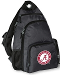 Alabama Backpack Cross Body Single Strap Style Gray