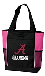University of Alabama Grandma Tote Bag Pink