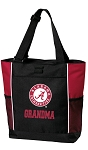 Alabama GRANDMA Tote Bag Red