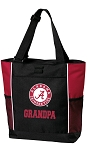 Alabama GRANDPA Tote Bag Red