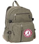 Canvas Alabama Backpack Olive
