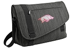University of Arkansas Messenger Laptop Bag Stylish Charcoal