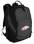 University of Arkansas Deluxe Laptop Backpack Black