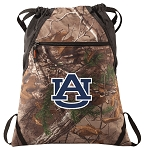 Auburn RealTree Camo Cinch Pack