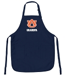 Official Auburn Grandpa Aprons Navy