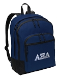 Alpha Xi Backpack Navy