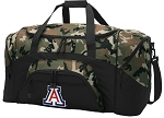Official University of Arizona Camo Duffel Bags