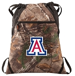 Arizona Wildcats RealTree Camo Cinch Pack