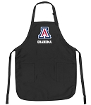 Official University of Arizona Grandma Apron Black