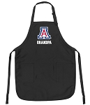 Official University of Arizona Grandpa Apron Black