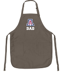 Official Arizona Wildcats Dad Apron Tan