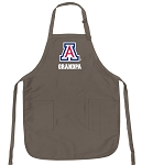 Official Arizona Wildcats Grandpa Apron Tan