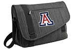 Arizona Wildcats Messenger Laptop Bag Stylish Charcoal