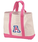 University of Arizona Tote Bags Pink