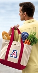 Arizona Wildcats Tote Bag Red