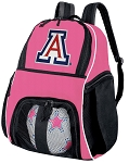 Girls University of Arizona Soccer Backpack or Arizona Wildcats Volleyball Bag