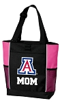 University of Arizona Mom Tote Bag Pink