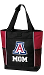 University of Arizona Mom Tote Bag Red
