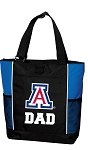 University of Arizona Dad Tote Bag Roy