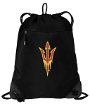 Arizona State Drawstring Backpack-MESH & MICROFIBER