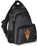 Arizona State Backpack Cross Body Style Gray