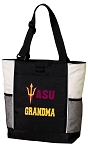 ASU Grandma Tote Bag White Accents