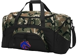 Official Boise State University Camo Duffel Bags