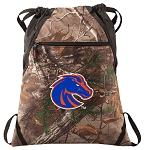 Boise State RealTree Camo Cinch Pack