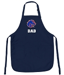 Boise State Dad Apron Navy