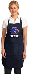 Boise State Mom Apron Navy