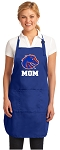 Boise State Mom Apron Royal